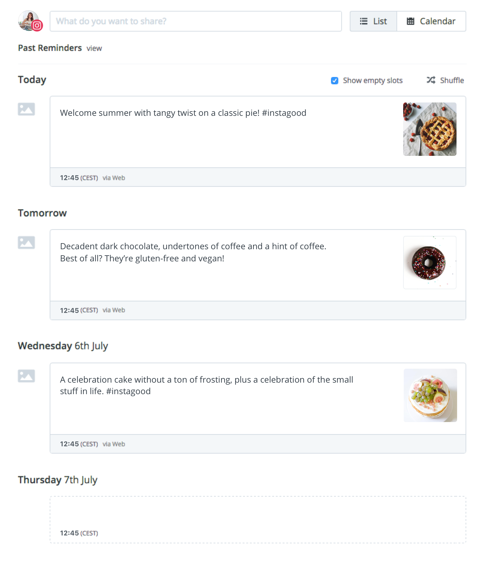 Collaborate With Team Members Toanize Your Upcoming Instagram Posts And  Campaigns (available On Buffer For Business)