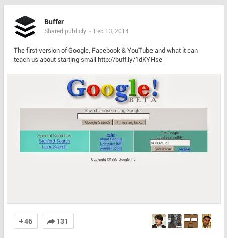Google+ images