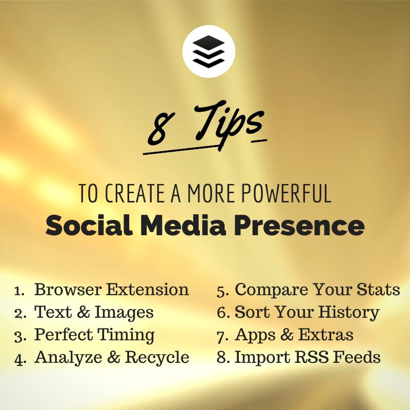 8 Tips for Social Media