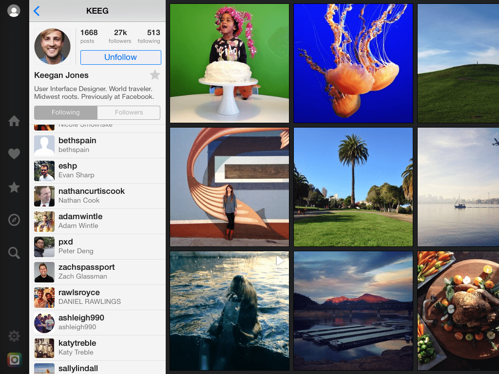 flow instagram app
