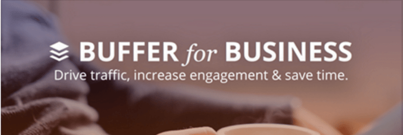 Buffer for Business button