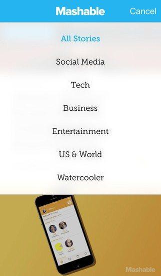 mashable app