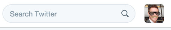 Twitter search from toolbar