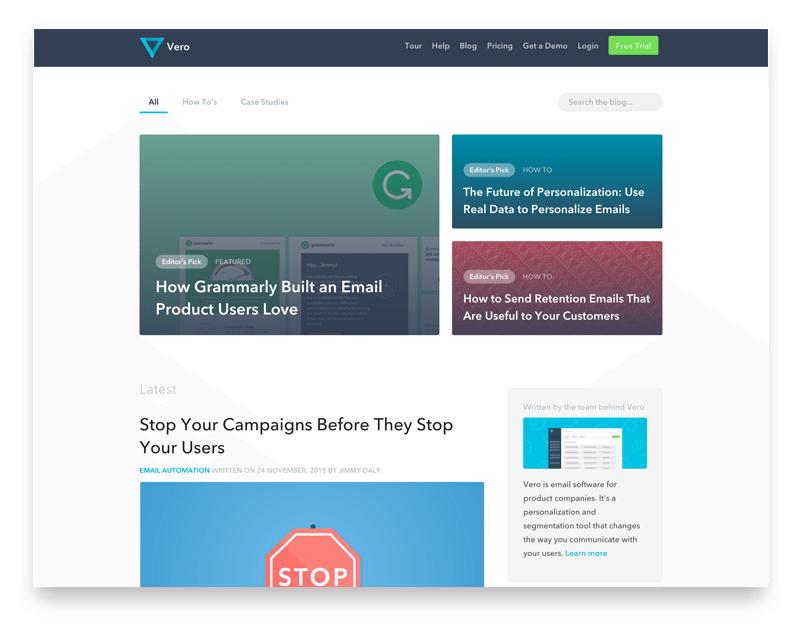 Vero website