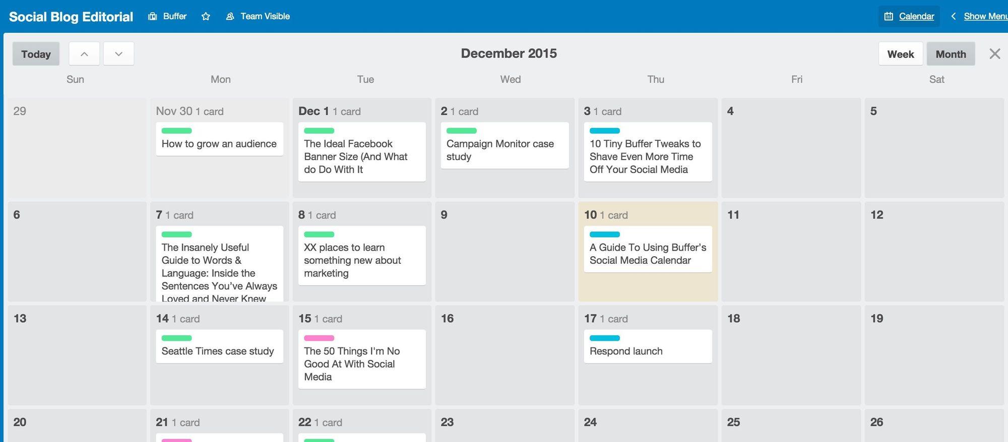 Buffer trello social calendar 02