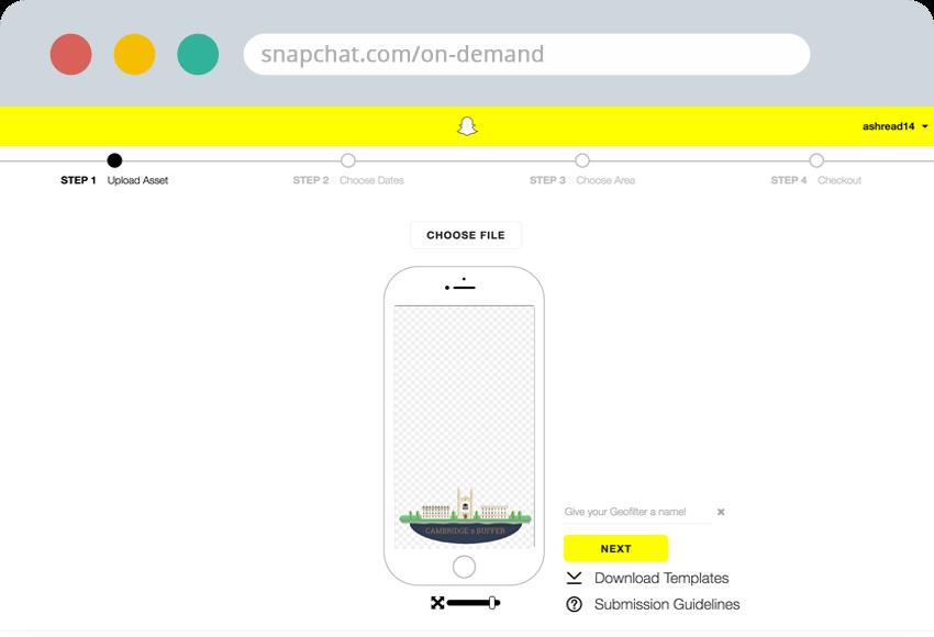 snapchat-upload