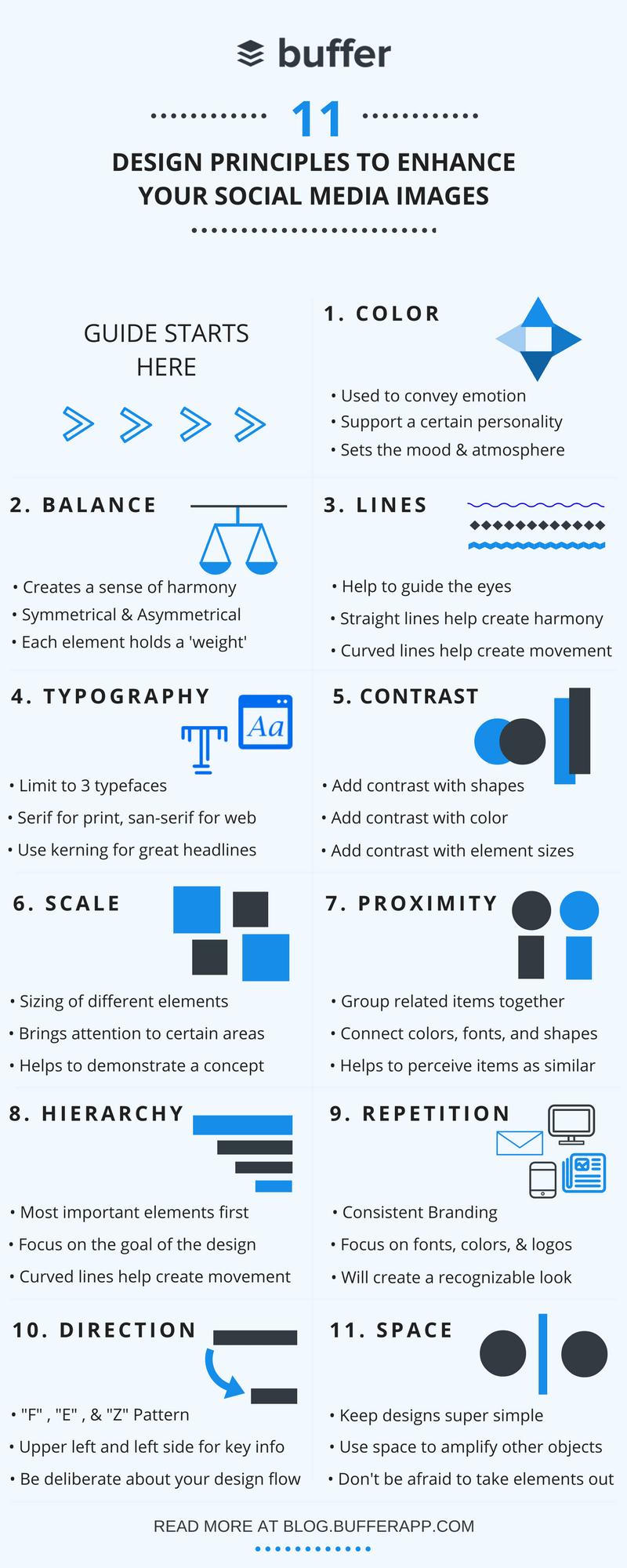 11 Design Principles and Social Media Design Tips
