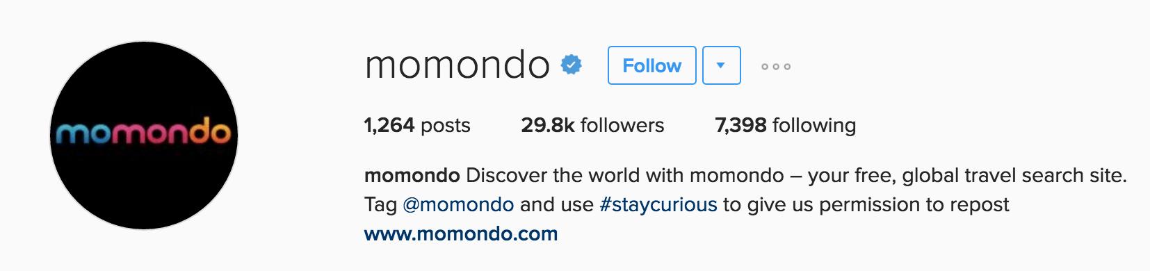 momondo-instagram