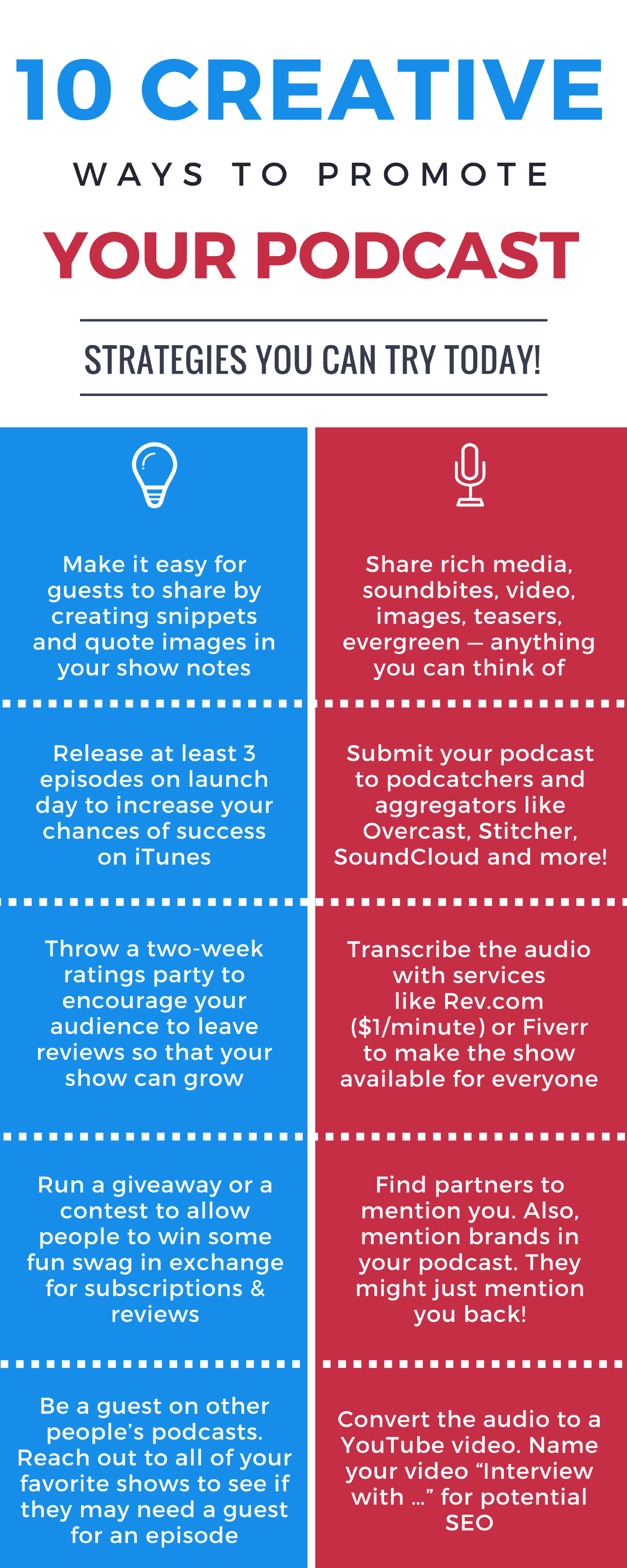 10 Ways to Promote a Podcast