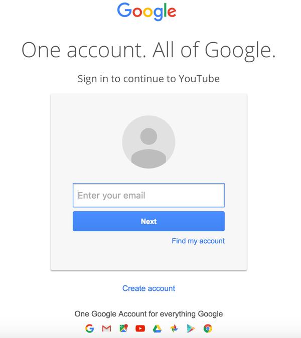 conta do Google