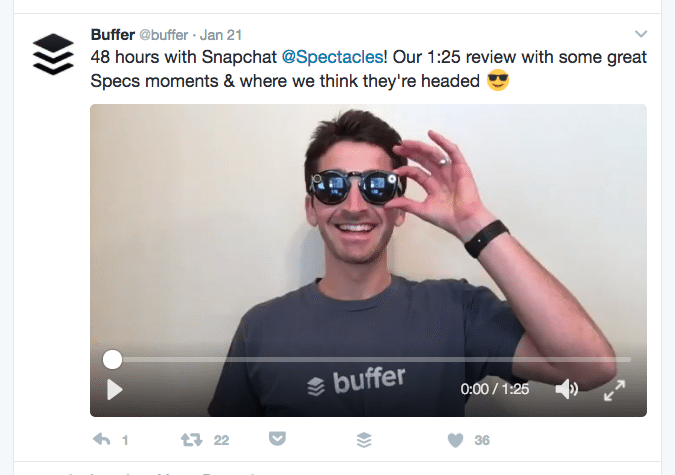 Twitter video example