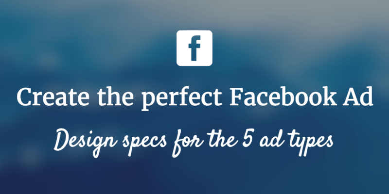 Facebook ad design