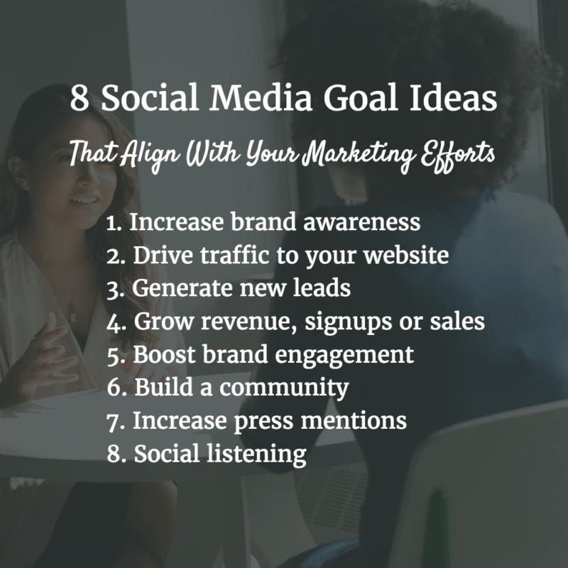 social-media-ideas-marketing-goals
