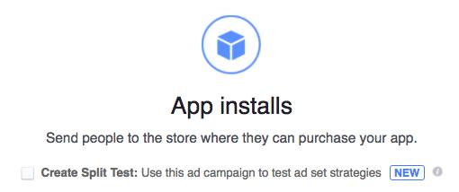 App installs objective