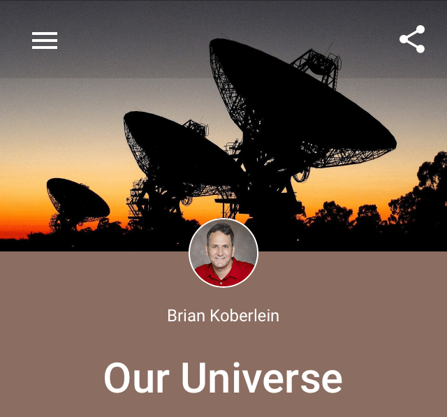 Google+ collection and community cover photo on mobile