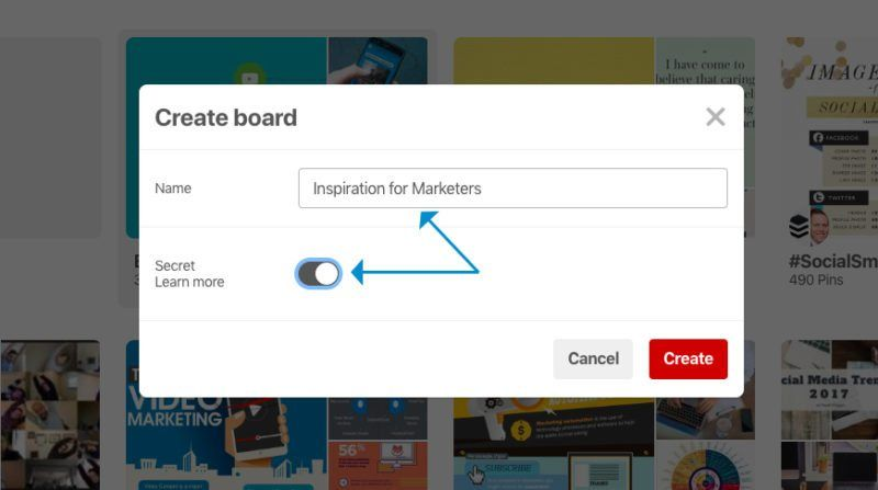How to Create a Pinterest Board