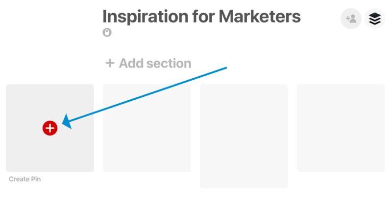 Create a Pin on Pinterest