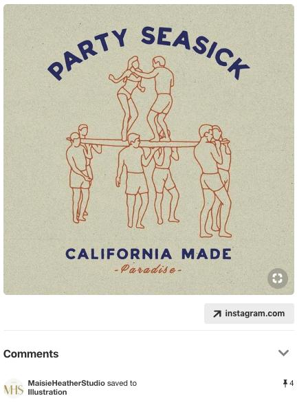 Pin: Party seasick