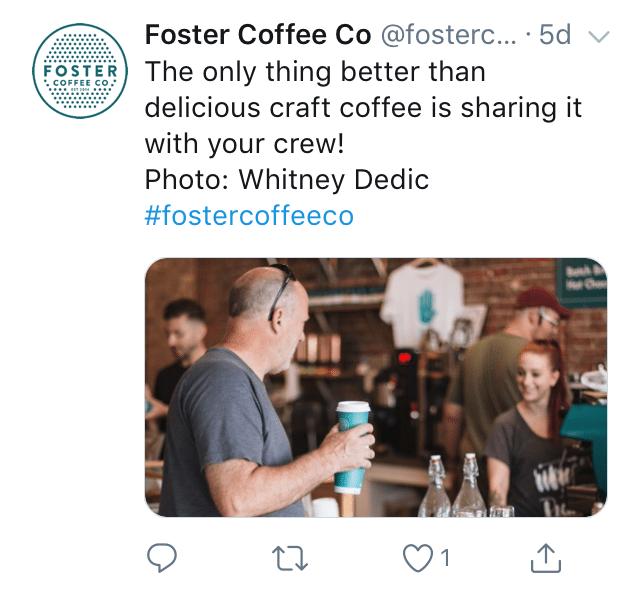 Twitter image size example