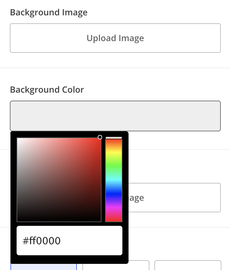 Step 1: Add a background image or color