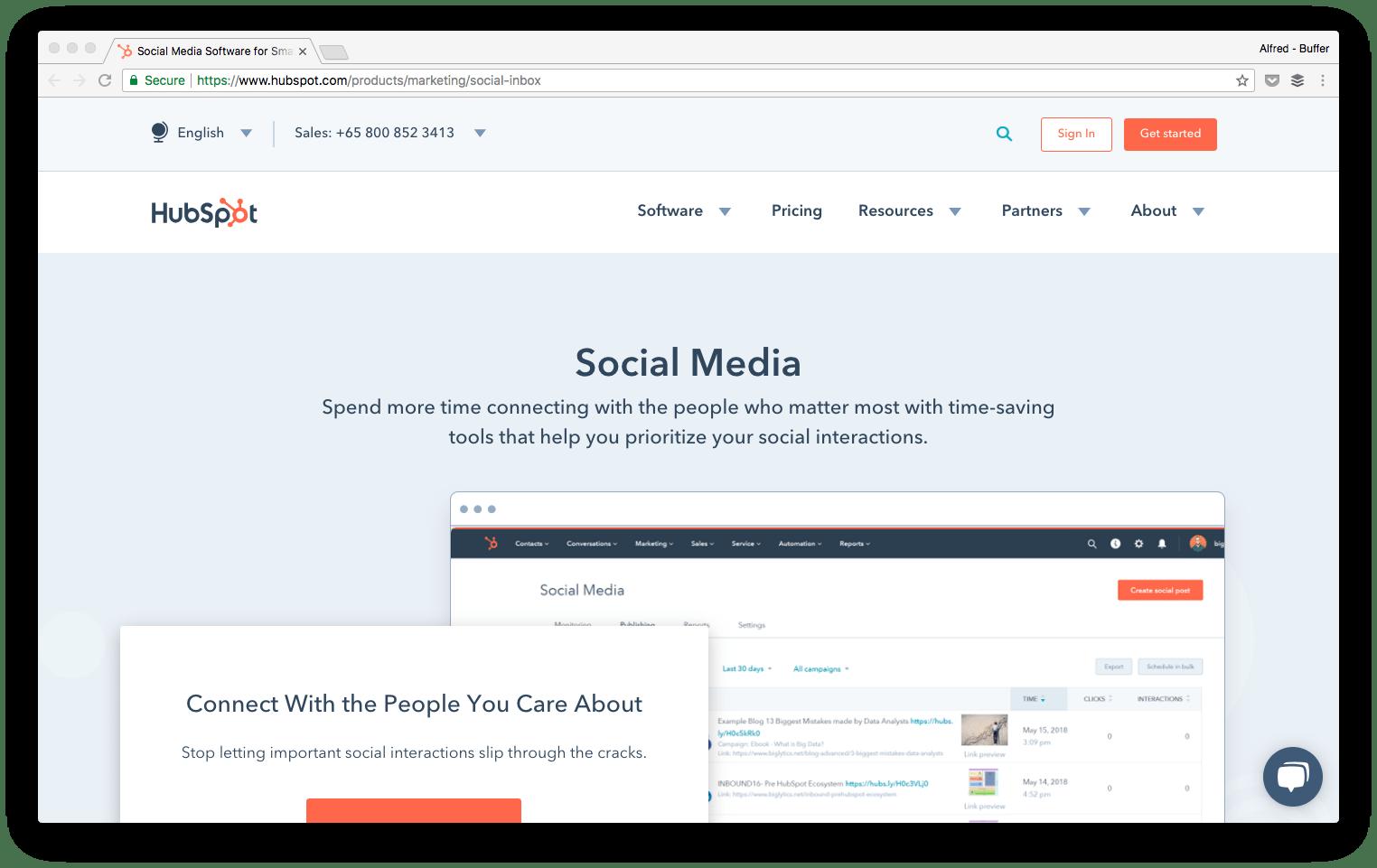 hu social media tool