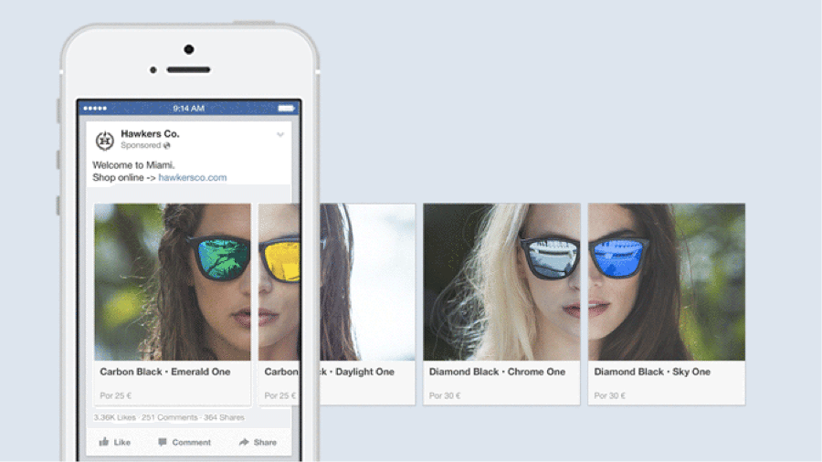The Ultimate Guide to Facebook Carousel Ads