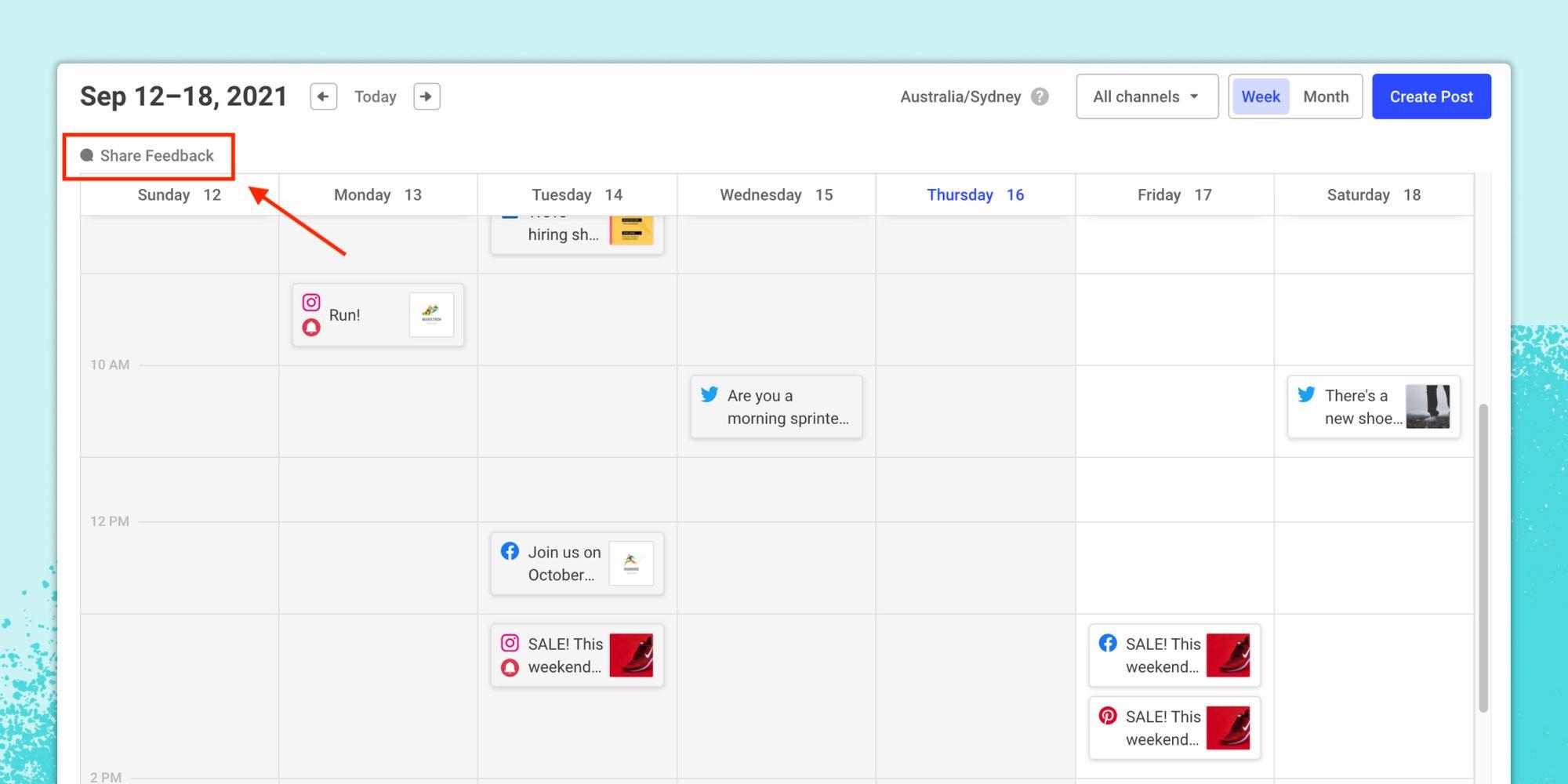Introducing a New Social Media Calendar