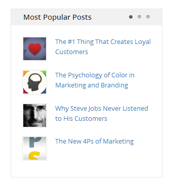 Popular Posts widget example - Help Scout