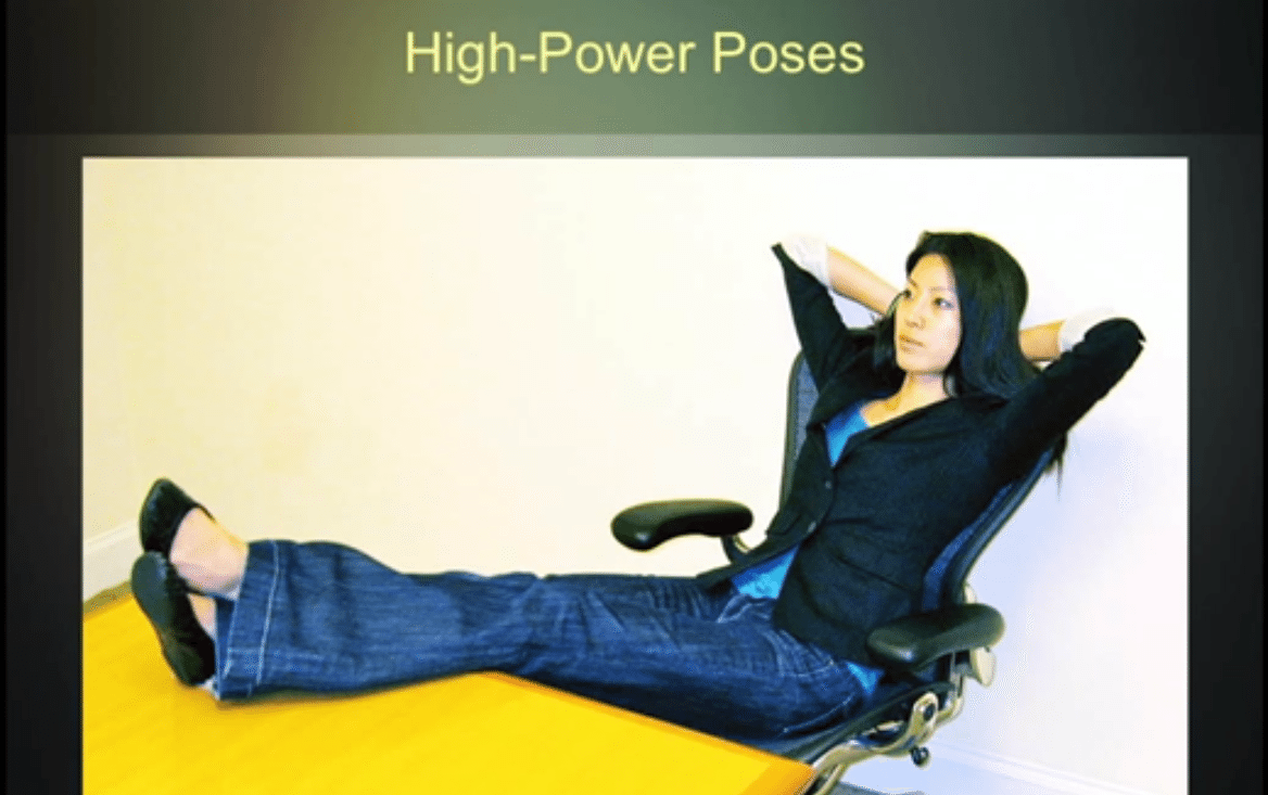 improve my body language science power poses
