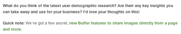 blogging advice - buffer ss