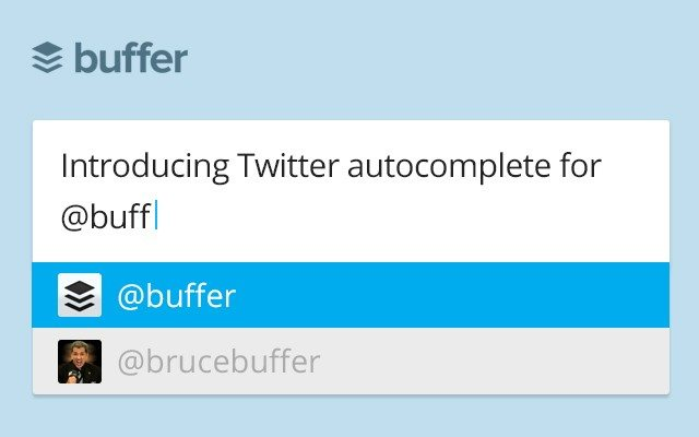 smarter twitter autocomplete