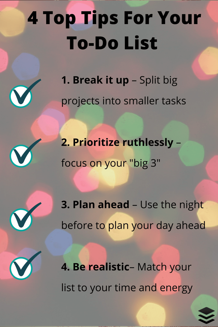 4 ways to rock your to-do list