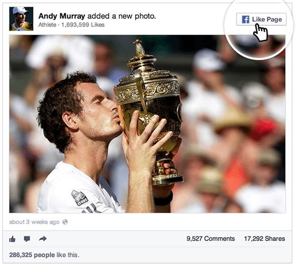 facebook changes - embed like