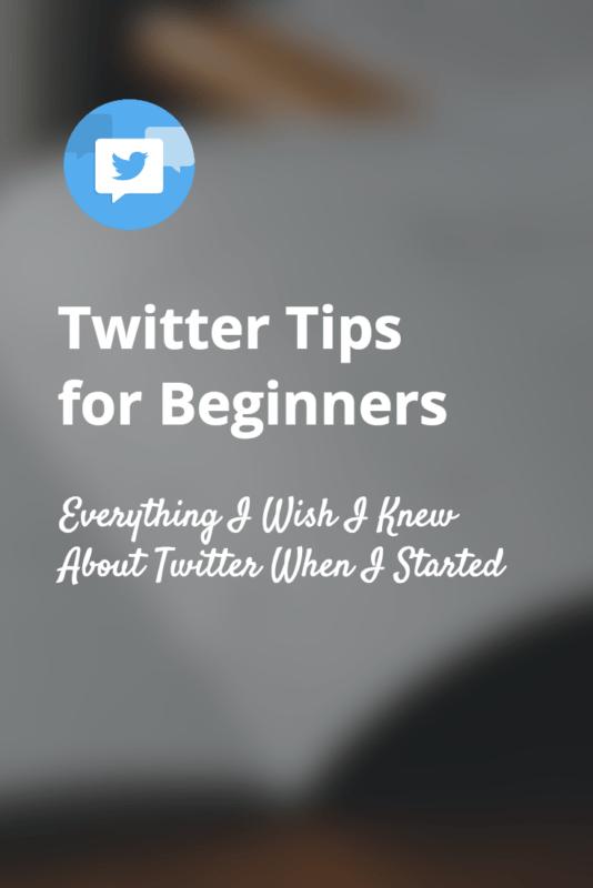 Twitter Tips for Beginners