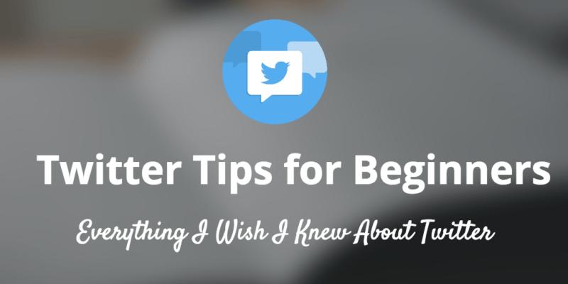 twitter tips beginners