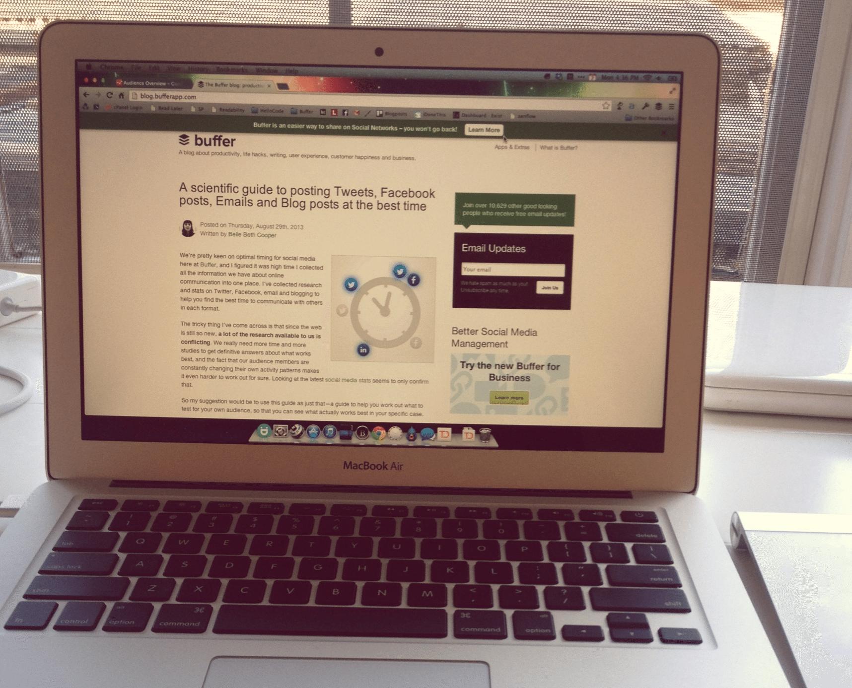 working on mac