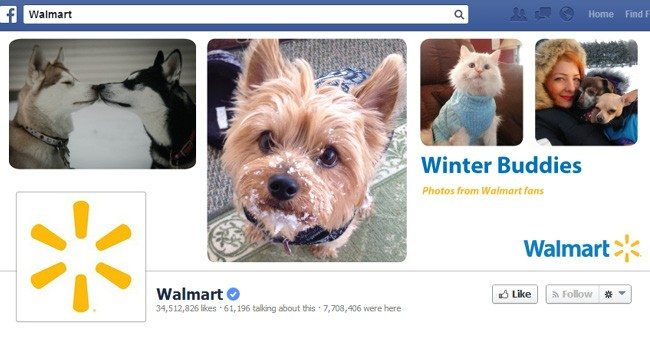 Waltmart Facebook header
