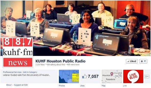 KUHF Facebook header