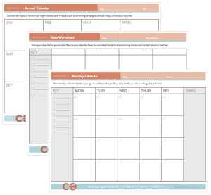 CoSchedule printable calendars