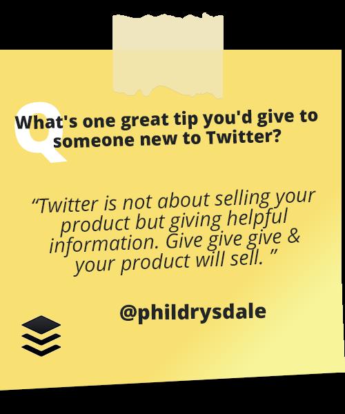 Twitter Tips 12