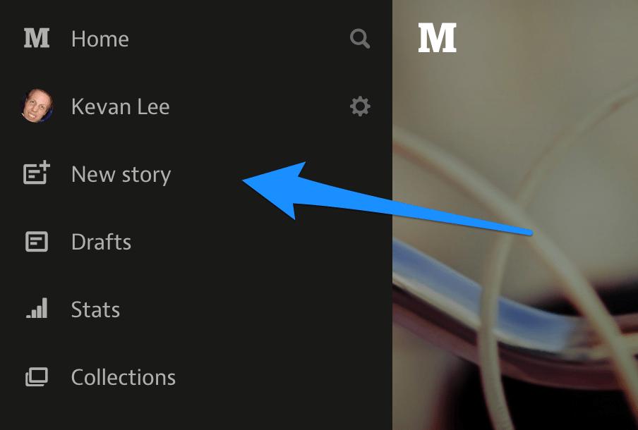 medium new story