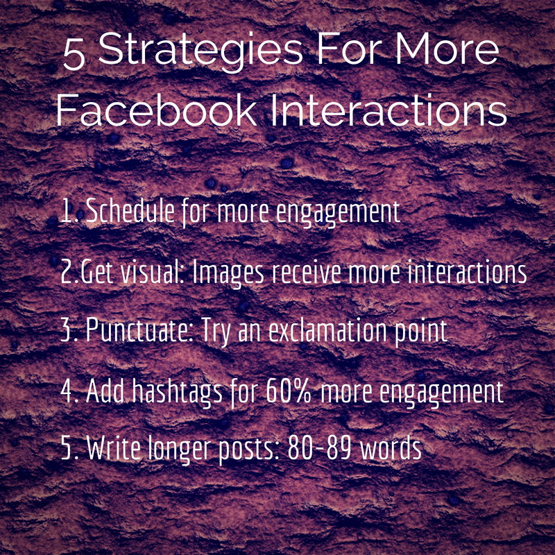 5 strategies for more Facebook engagement