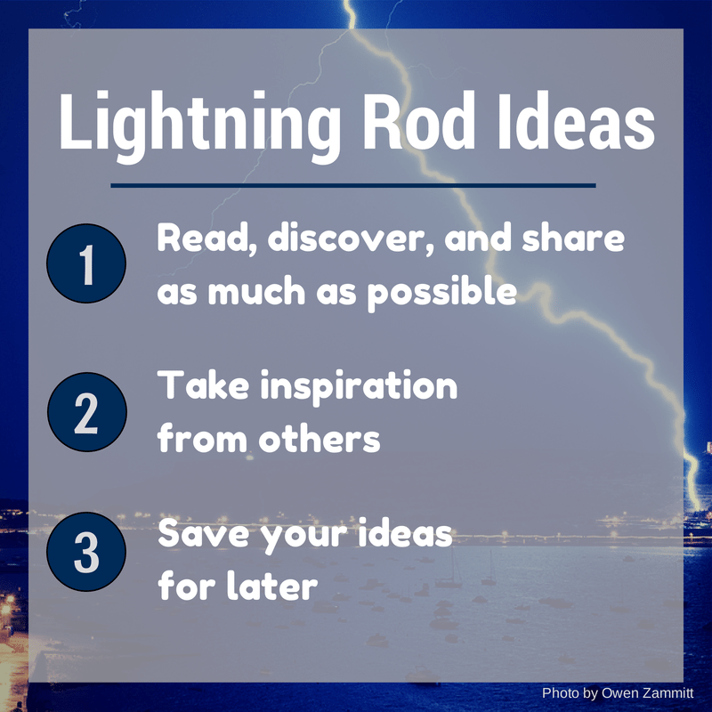 Lightning rod ideas