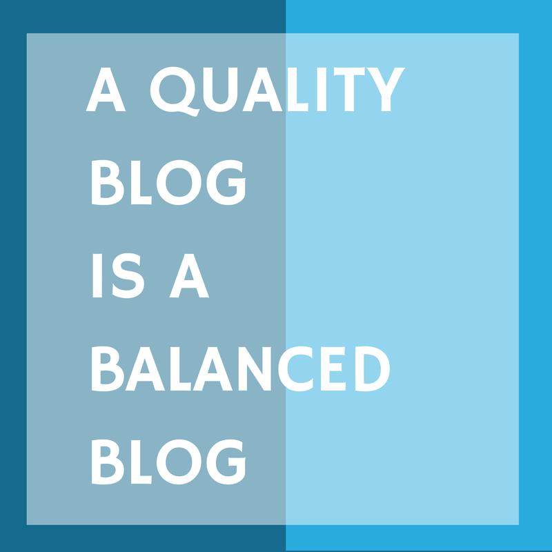 Quality Balance
