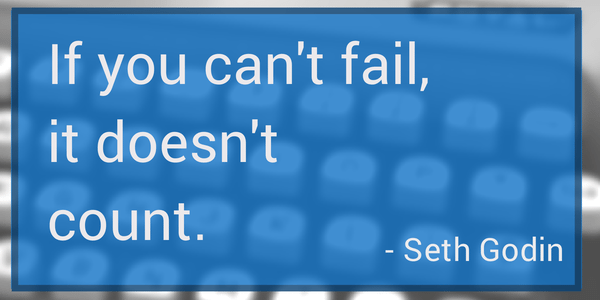 Seth Godin quote failure