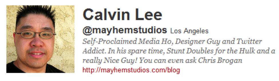 Calvin Lee bio