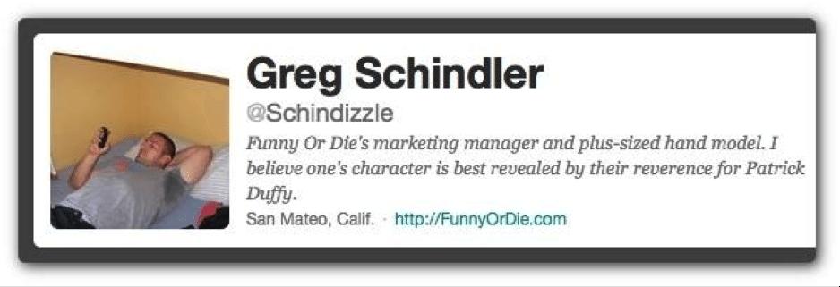 Greg Schindler bio