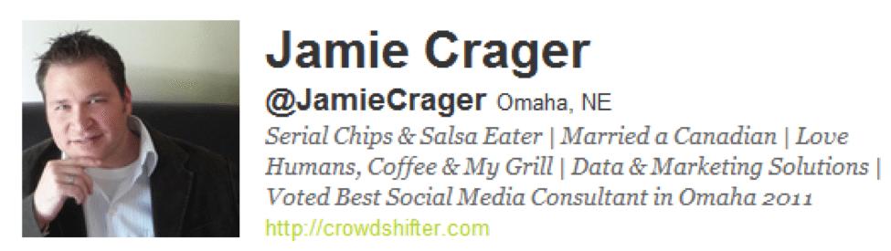 Jamie Crager bio
