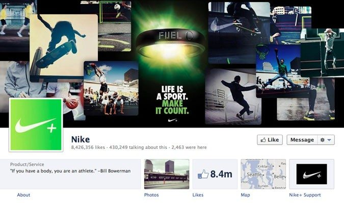 nike-facebookpage