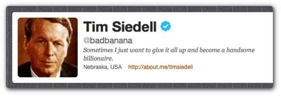 Tim Siedell bio